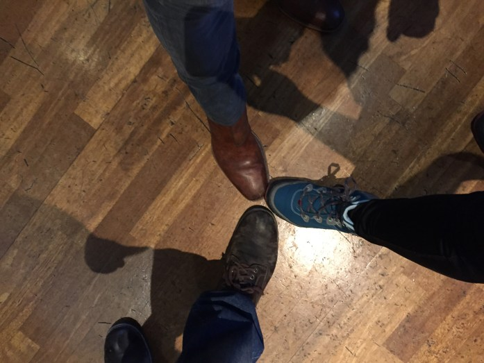 My shoefie with Kit and Ben