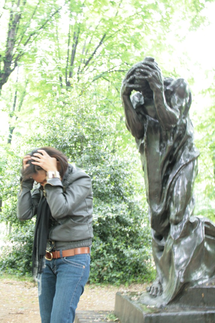 Rodin's work helped us sort through our feelings