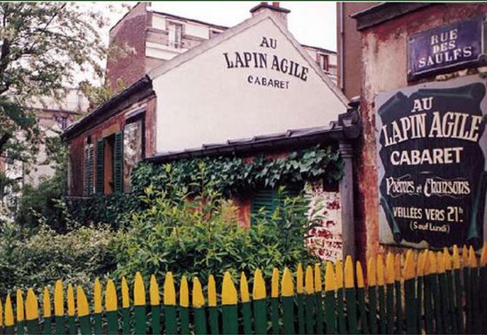 Au Lapin Agile Cabaret (Photo Credit: Au Lapin Agile)