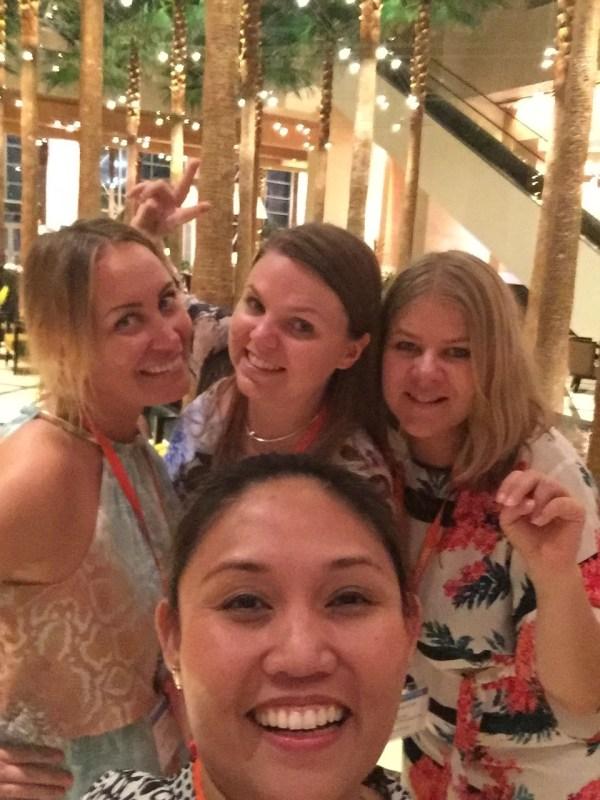Viajera Filipina with Finish bloggers