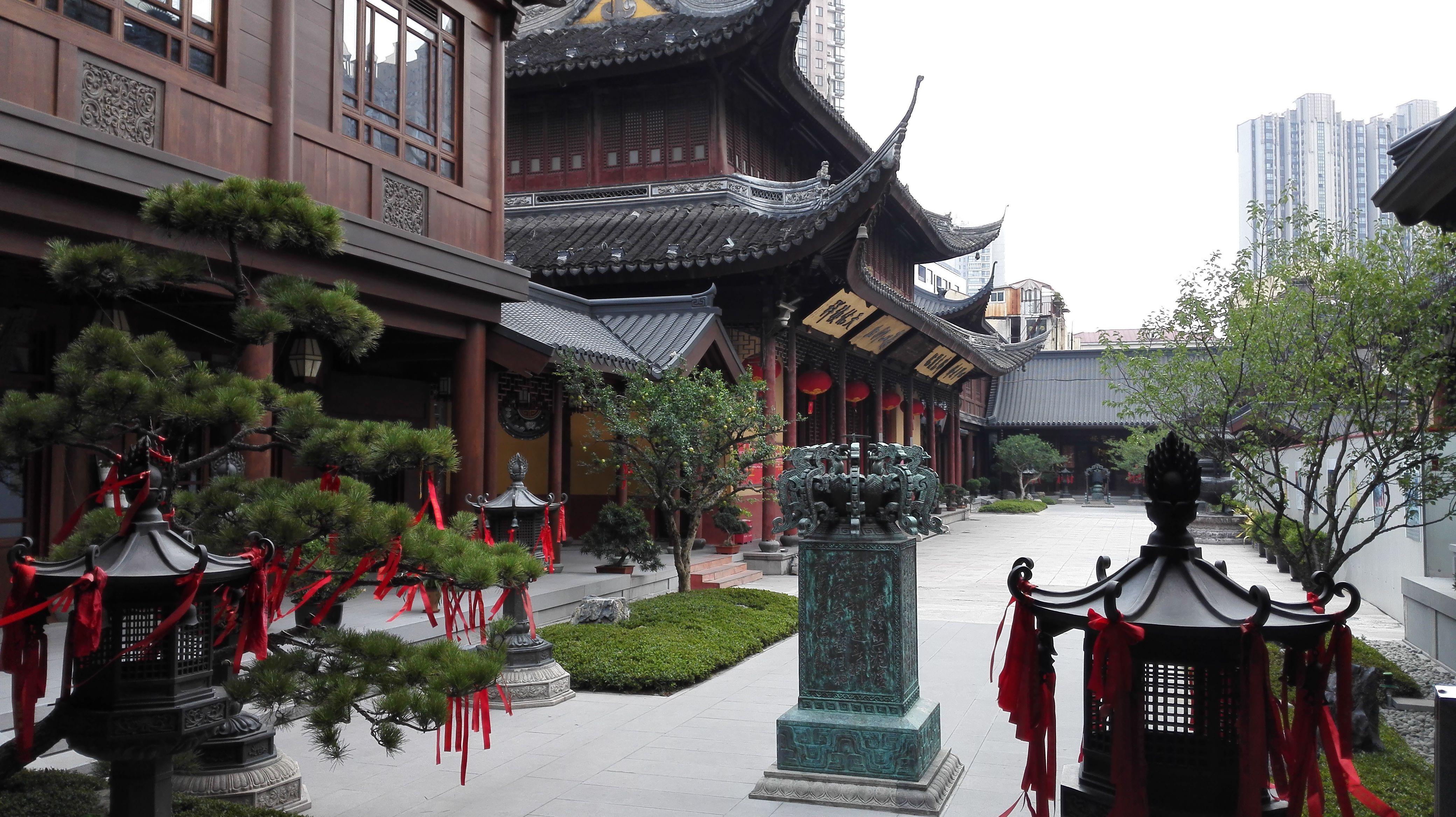 Templo del Buda de Jade, Shanghai, China.