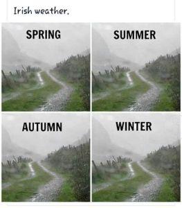 el clima en Irlanda