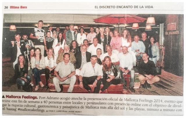 Blogueros de #MallorcaFeelings