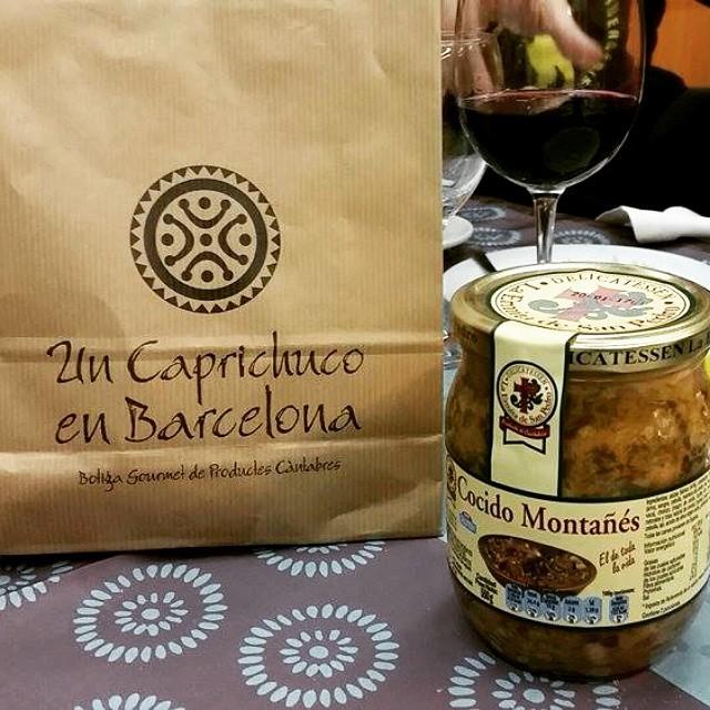 Cocido montañés, regalo de Un Caprichuco en Bcn.