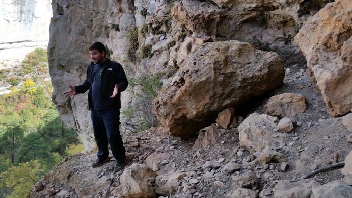 Entrada a la Cueva de la Ramera #CuencaEnamora