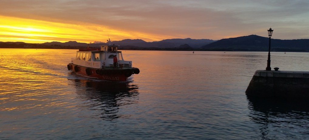 El espectáculo de ver amanecer en Santander