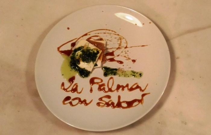 Milhojas de ñame y queso palmero - #LaPalmaConSabor