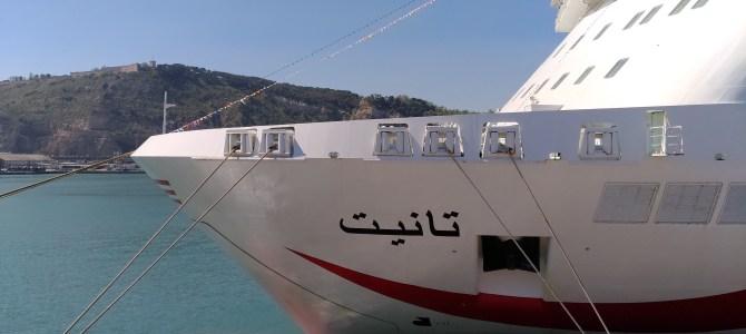 Visita al crucero TANIT de CTN: de Marsella a Túnez con escala en Barcelona
