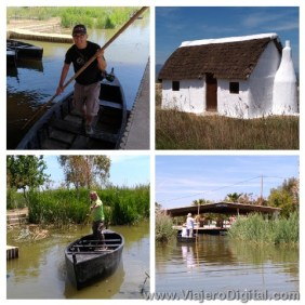 Actividades acuáticas y agropecuarias en el Delta del Ebro