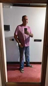 Mi llegada al hotel tras la batalla del vino