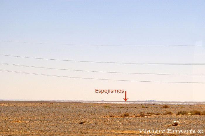 Espejismos del desierto