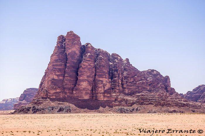 desierto de wadi rum