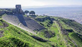 Ciudad de Pérgamo, la acrópolis.