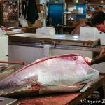 Mercado de pescado de Tsukiji en Tokio