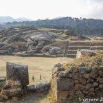 Sacsayhuaman, la fortaleza de Cusco.