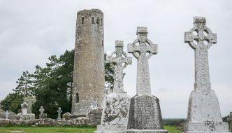Clonmacnoise – El mágico conjunto monástico irlandés.
