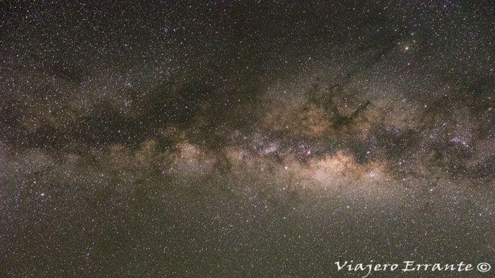 Vía Láctea en el desierto de la Tatacoa