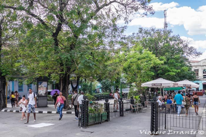 Parque Dolores Santiago de Cuba