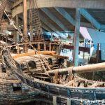 Museo Vasa en Estocolmo, el más visitado de la ciudad.