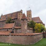 Castillo de Malbork, imponente fortaleza gótica – Polonia