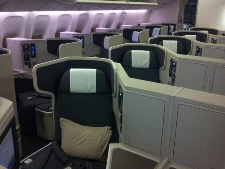 Clase Ejecutiva Cathay Pacific