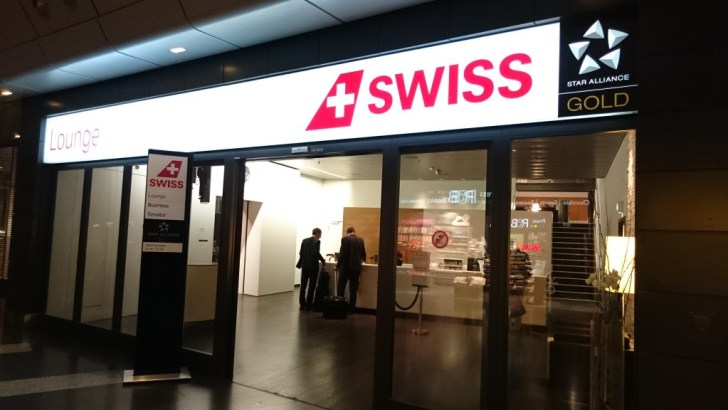 Swiss Air Business Lounge - Zurich ZRH -04