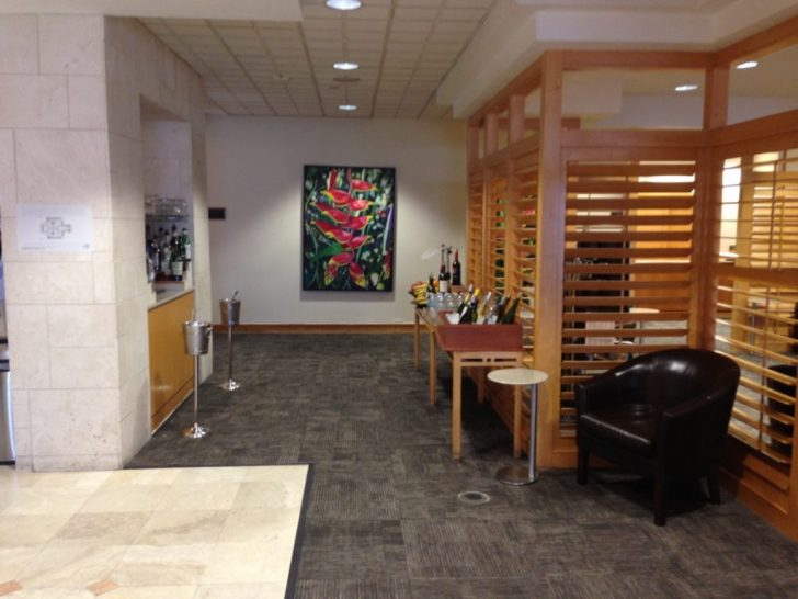 Sala VIP lounge oneworld en Terminal E de Miami - MIA-14