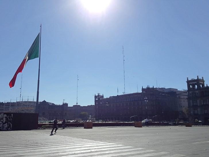 Ciudad de México Turismo Zocalo -06b