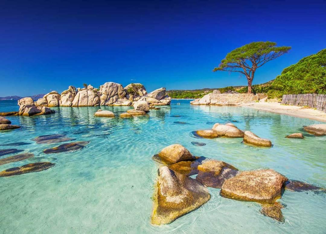 Une belle plage Corse