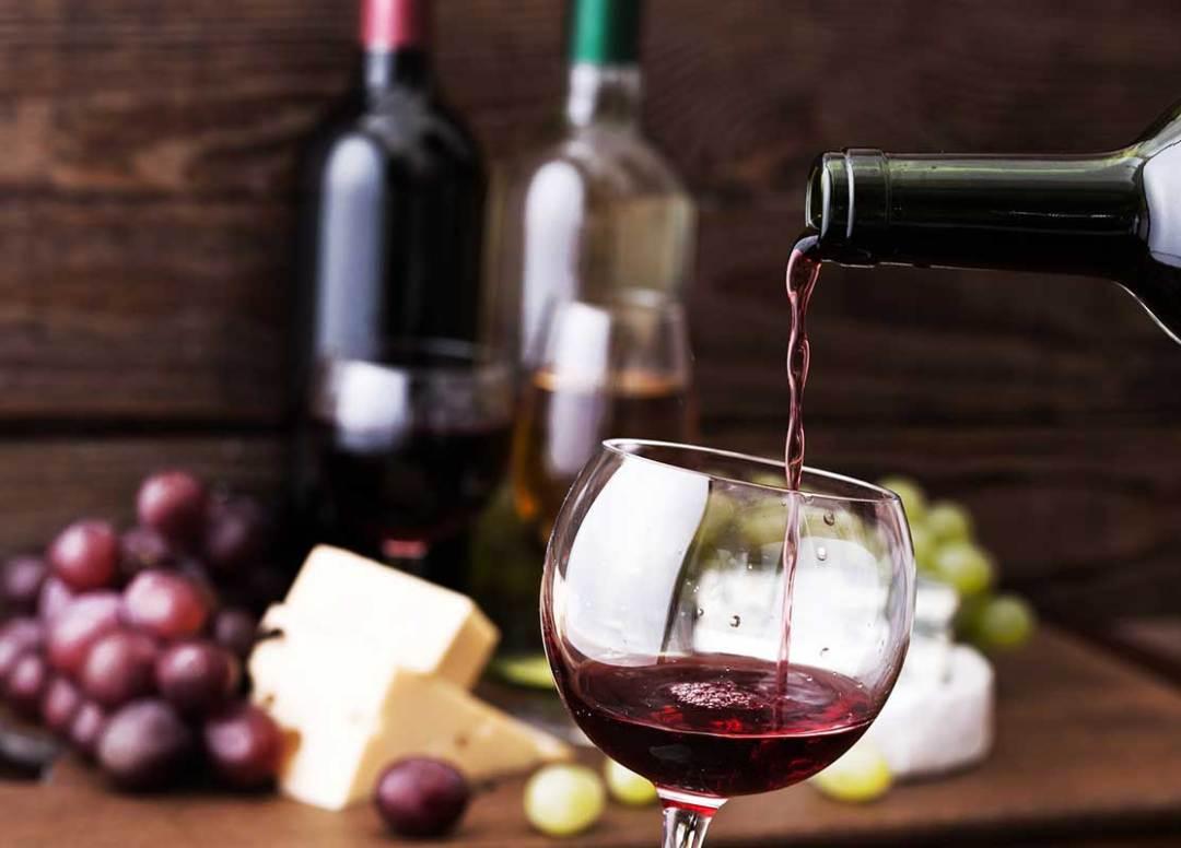 Vin rouge Français