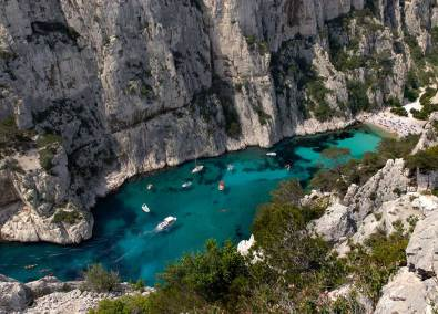 The creeks of Cassis