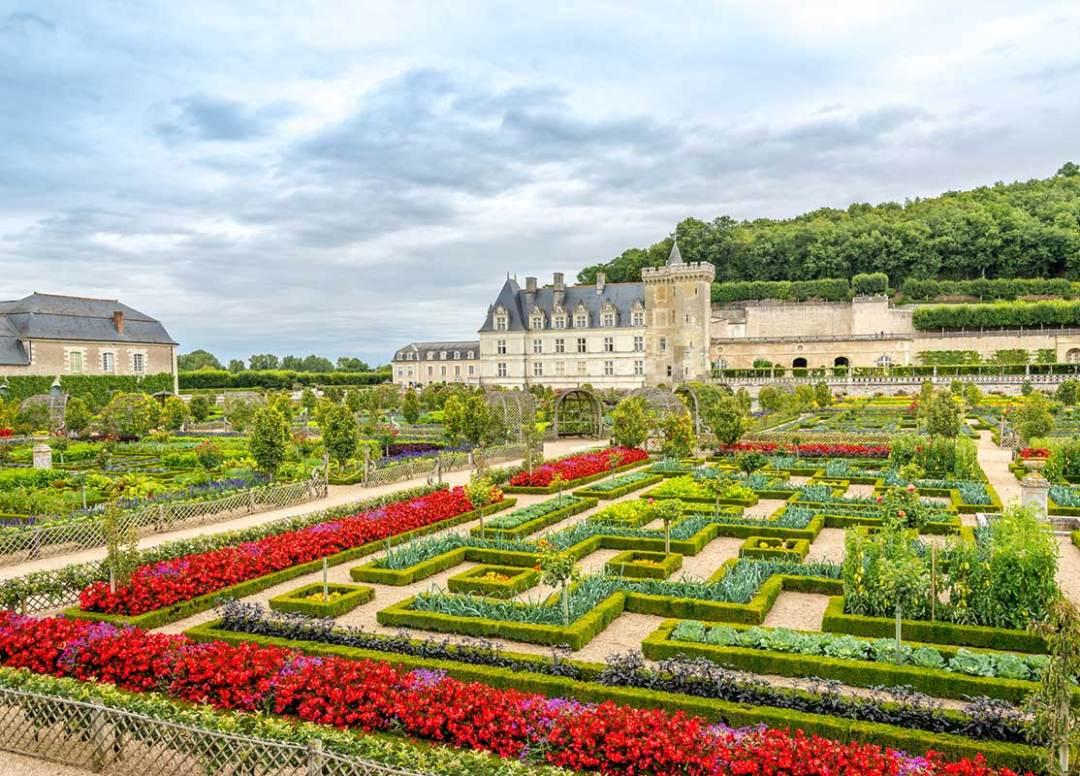 Jardins do Castelo de Villandry