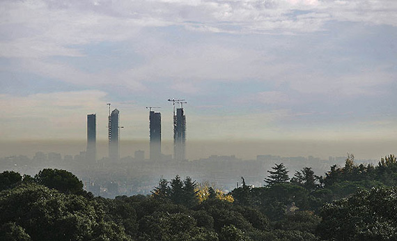 Contaminación en Madrid