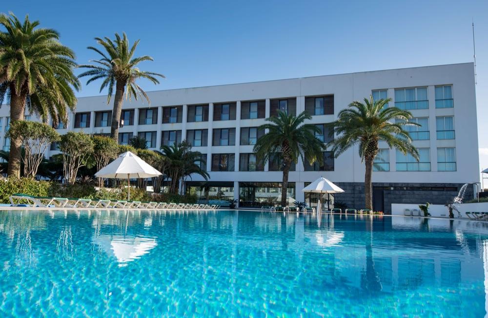 Azoris Royal Garden hotel en Ponta Delgada  Isla de San