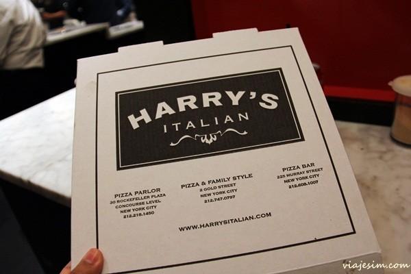 pizza em New york harrys italian