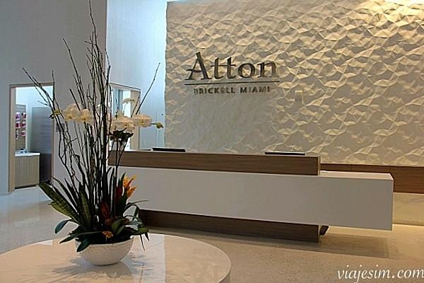 Onde ficar em Miami Hotel para enxoval do bebe em Miami Atton Brickell MiamiOnde ficar em miami lobby