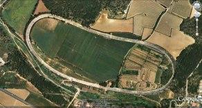 Vista aérea del autódromo de Terramar