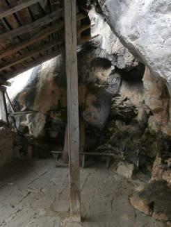 Extremo del interior del soportal