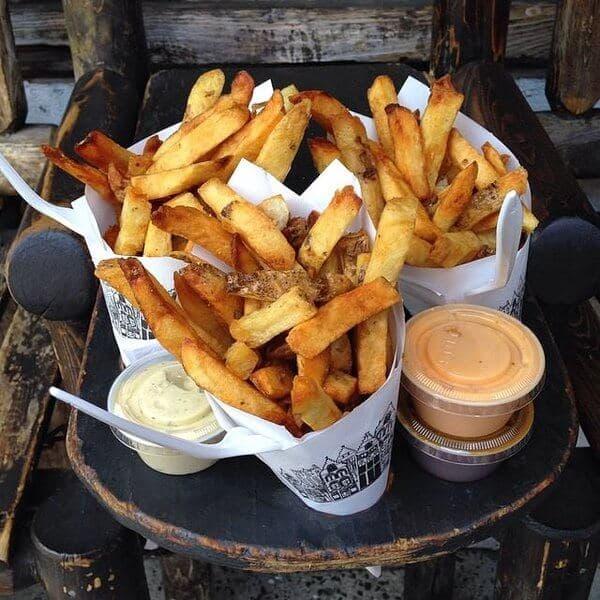 Las mejores patatas fritas de Nueva York