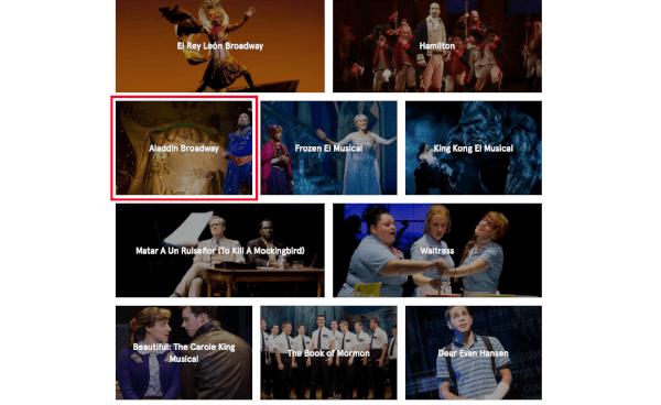 Comprar entradas Broadway
