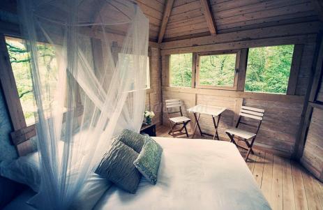 cabaña arbol basoa suites
