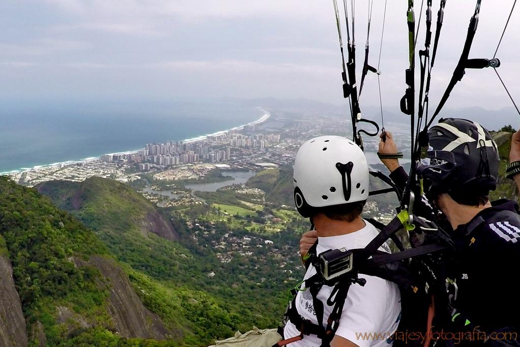 parapente Rio de Janeiro 2
