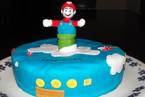 Tarta Super Mario Bros