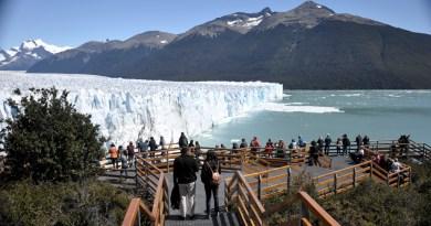 El Glaciar Perito Moreno prepara un nuevo espectáculo natural