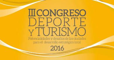 Rosario: Ya se viene el III Congreso de Deporte y Turismo