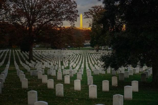 Monumento Washington desde Arlington