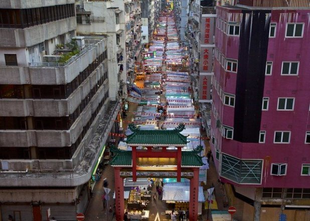 Mercado de Temple (Hong Kong)