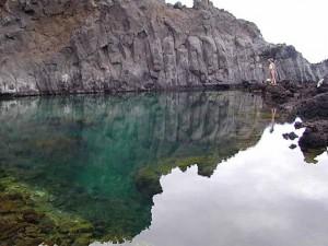 Piscina natural en Fuencaliente