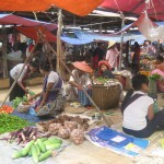 Mercado de Birmania