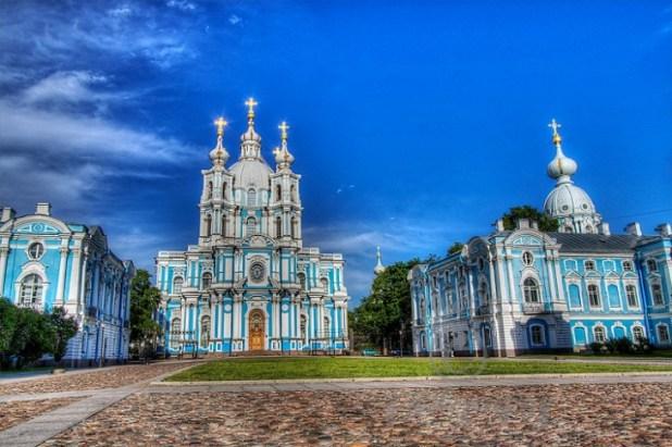 Convento de Smolny San Petesburgo